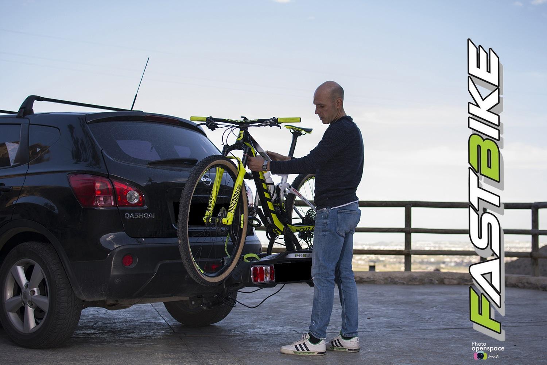 Portabicicletas Fasbike con capacidad para transportar 2, 3 y hasta 4 bicis.